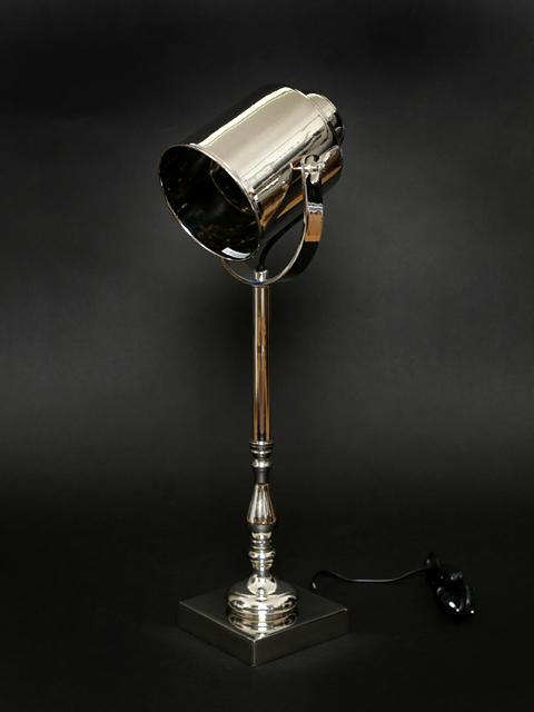 tischleuchte spot lampe tischlampe schwenkbar scheinwerfer. Black Bedroom Furniture Sets. Home Design Ideas