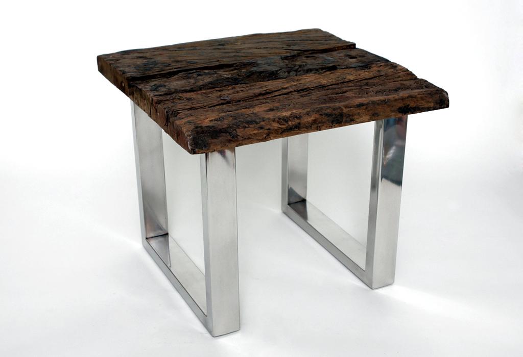 Massivholz Tisch Baumstamm Interieur Modern Bilder