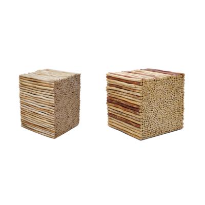 Hocker Bad Holz 1