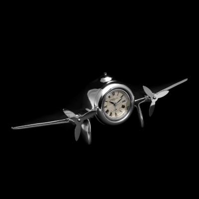 Design flugzeug tischuhr kaufen brillibrum online shop for Design tischuhr
