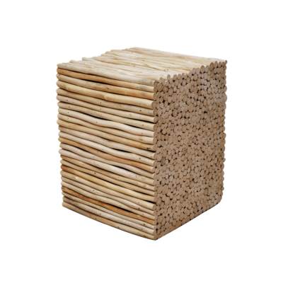 Hocker Bad Holz 5
