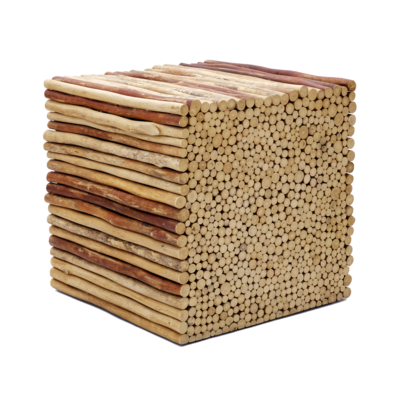 Hocker Bad Holz 6